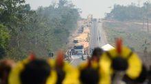 Indígenas voltam a bloquear BR-163 e podem protestar por mais 24 horas