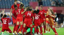 東京奧運女足,加拿大PK戰中4比3擊敗巴西女足