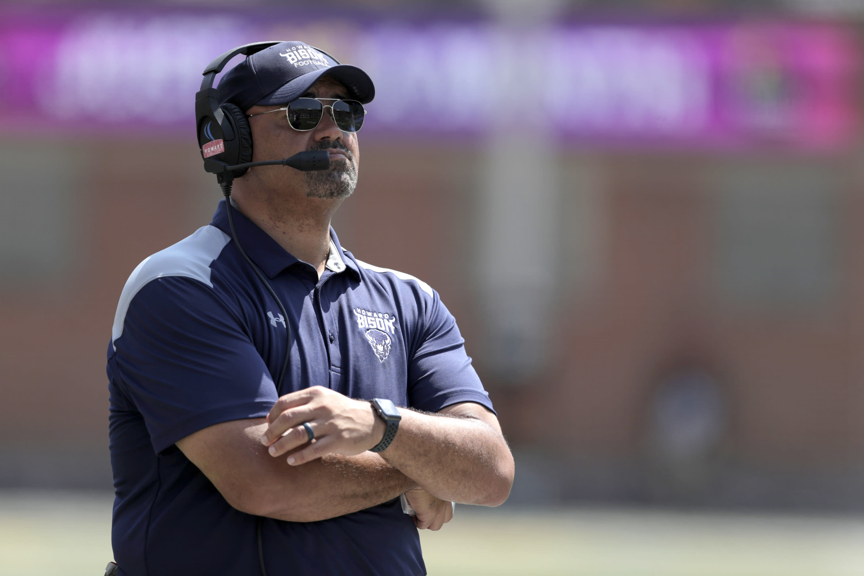 Howard places coach Ron Prince on leave amid investigation into abuse allegations - Yahoo Sports