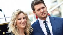 Michael Bublé's wife denies abuse rumours after singer elbows her in new video