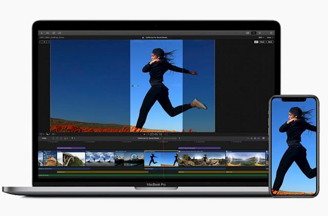 Apple's Final Cut Pro X uses AI to auto-crop videos for social media
