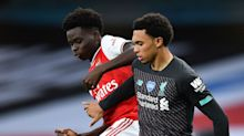'WTF!' - Aubameyang angered by lack of VAR input in Alexander-Arnold's shin-high tackle on Saka