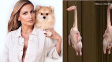 """Luisa Mell critica prova com patos pendurados no 'Masterchef': """"Uma crueldade"""""""