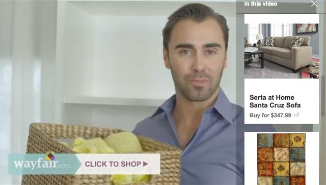 It's now easier to buy stuff from YouTube video ads, huzzah?