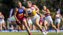Knee fears for Dogs' No.1 AFLW draft pick