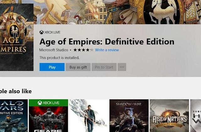 Microsoft now lets you gift PC games from its digital store