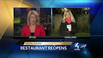 Restaurant reopens after E. coli outbreak