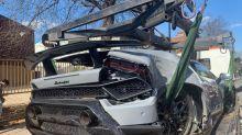 Lamborghini 'written off' in crash during supercar event