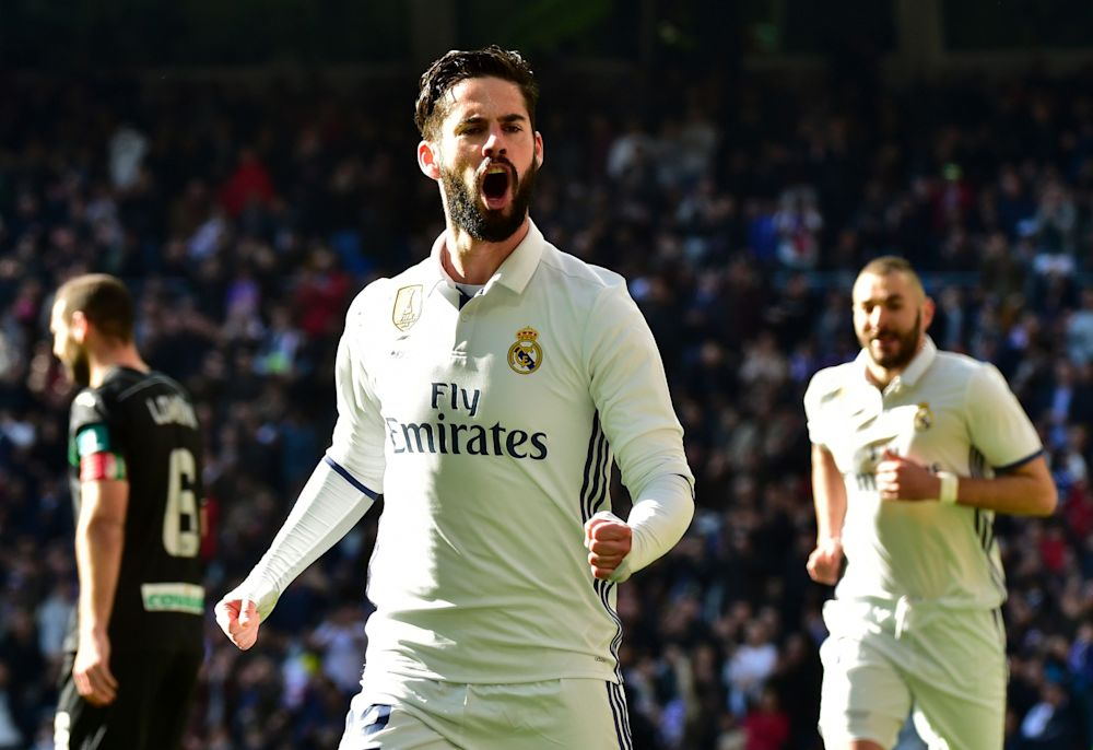 Isco was phenomenal for Real Madrid this weekend, scoring 2 goals and 29.20 Fantasy points against Sporting Gijon.