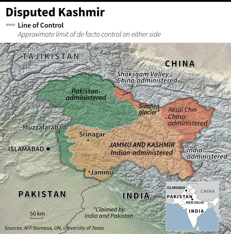 AFP's fact-checking unit has reported on dozens of pieces of Kashmir-related disinformation from both sides since the crisis began (AFP Photo/Jean-Michel CORNU)