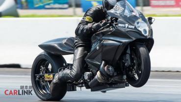打趴「四輪神獸」!Suzuki GSX-R1000渦輪版締造「376km/h」零四末速紀錄