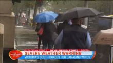 Severe weather warning for Victoria