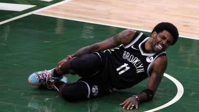 Nets lose Kyrie to ankle injury as Bucks tie series