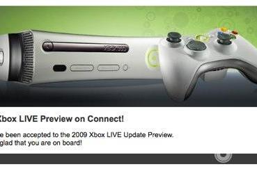 PSA: Xbox 360 Dash Preview invites in the mail [Update]