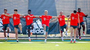 James Rodríguez entrena con Bayern Munich de cara al debut en Bundesliga