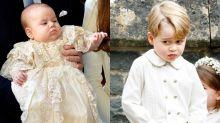 最有性格的皇室成員!喬治小王子的表情,從小到大也是這般趣怪可愛!