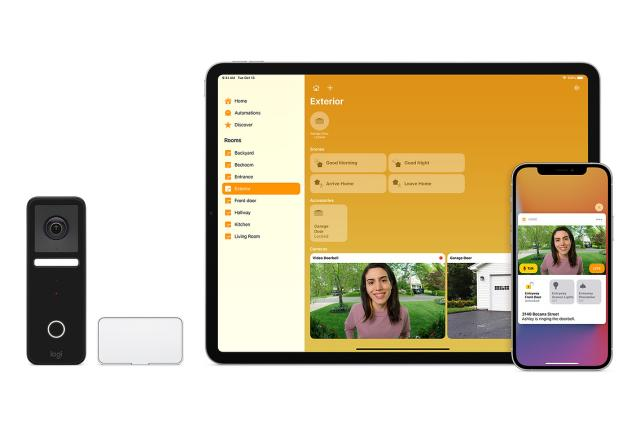 Logitech launches Circle View Doorbell with HomeKit Secure Video support