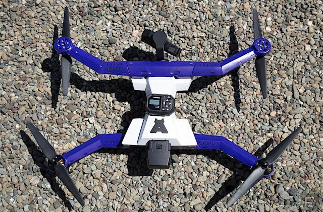 AirDog's ADII 'follow me' drone doubles down on action sports