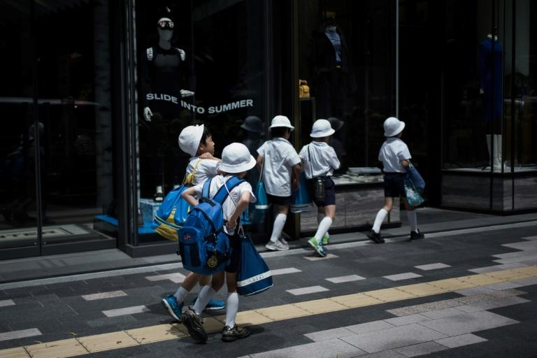 Japan tops UNICEF's charts for childhood health indicators, with low rates of infant mortality and few underweight children (AFP Photo/Martin BUREAU)