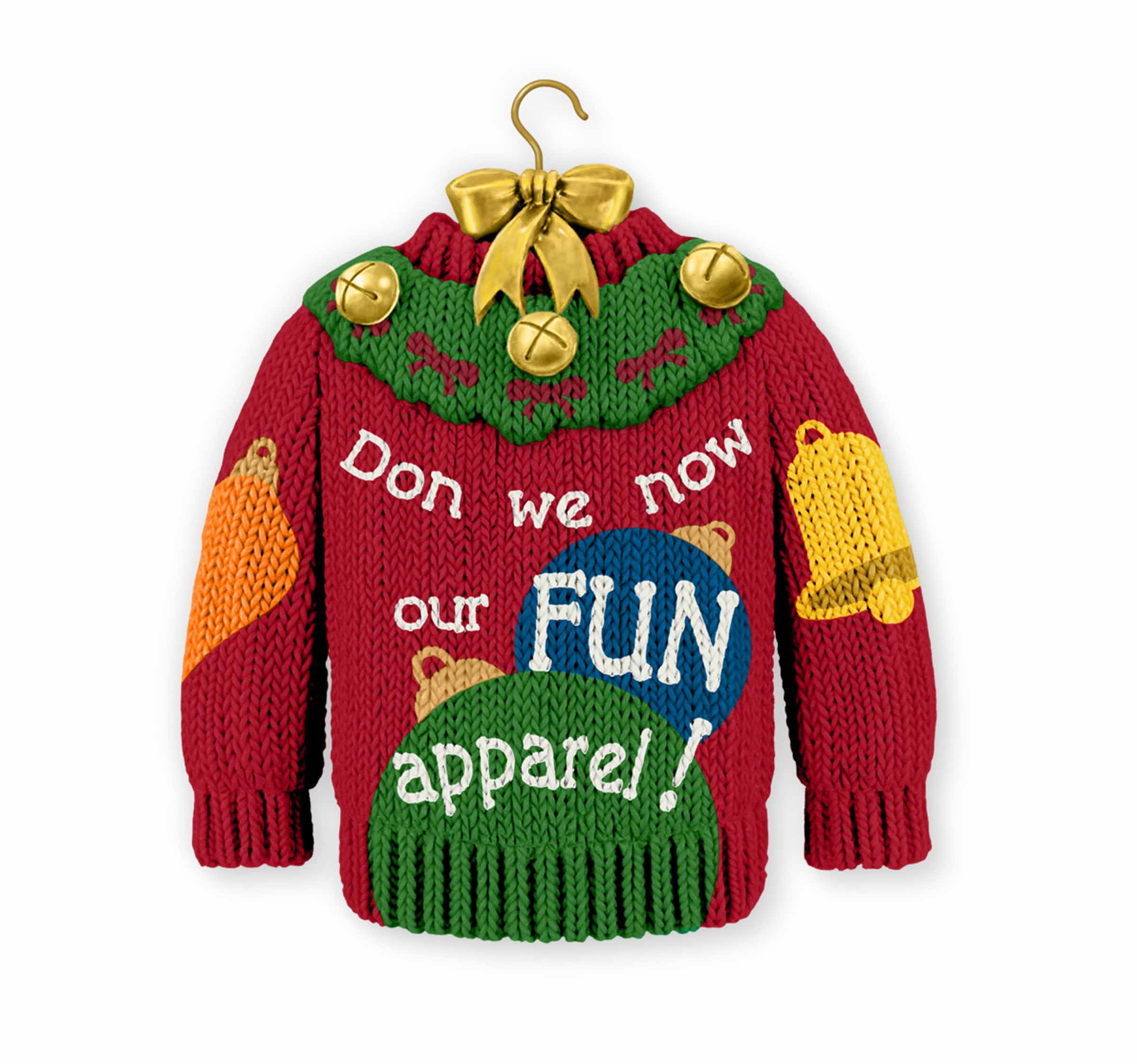 Hallmark s ugly sweater ornament stirs controversy