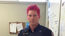 Toronto Police Officer Dyes Hair Pink to Fight Bullying and Homophobia