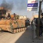 Islamic State relatives escape in northern Syria