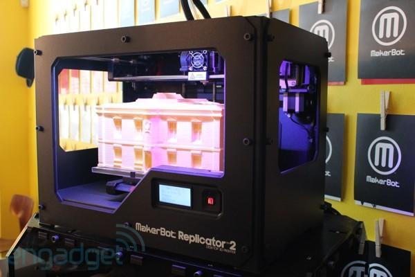 MakerBot's Replicator 2 joins Amazon's newly launched 3D printer store