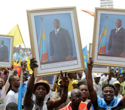 Tens of thousands rally in support of Congo's Kabila