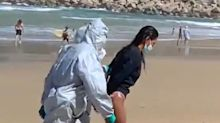Spanish woman arrested for breaching quarantine to go surfing