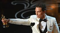 McConaughey Scoops His First Oscar