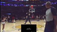 Lakers fan hits halfcourt shot to win $100,000