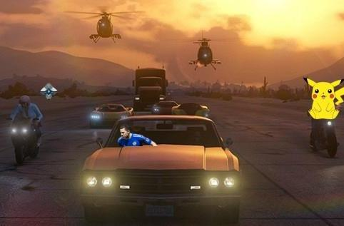 Grand Theft Auto drives off with top UK spot for third week