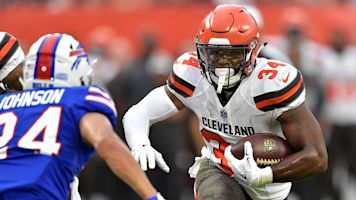 Browns send Hyde to Jaguars for draft pick