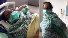 Anupam Kher Shares her Mother Video From Hospital