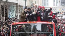 Watch: TFC's MLS Cup hero belts out memorable speech at championship parade