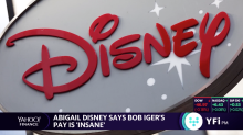 Abigail Disney says Bob Iger's pay is 'insane'