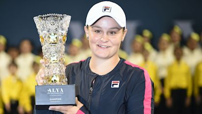Rising stars of tennis: Meet Ashleigh Barty - the Aussie youngster back on the WTA tour after season playing Big Bash cricket