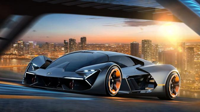 Lamborghini will go fully electric in the 'second part of the decade'