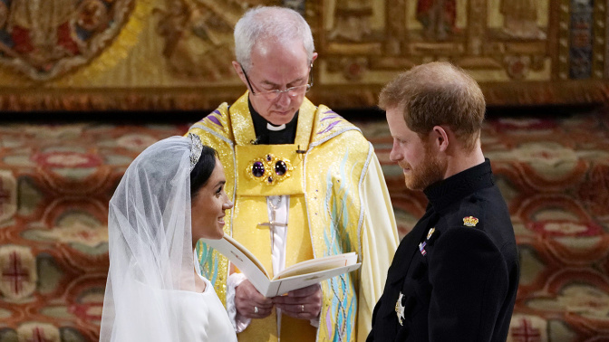WATCH IT AGAIN: Prince Harry, Meghan Markle wed