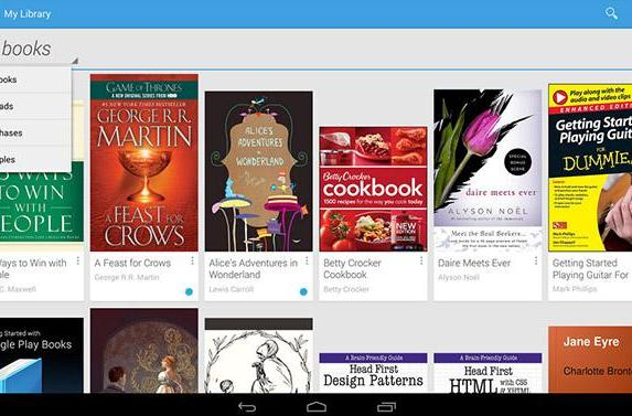Google's Play Books now supports e-book uploads from any Android device