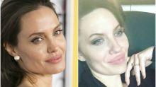 Esta mujer no puede evitar que la confundan con Angelina Jolie: ¡son clavadas!