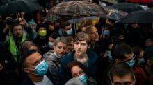 Protesto da oposição na Rússia termina com mais de 140 detenções