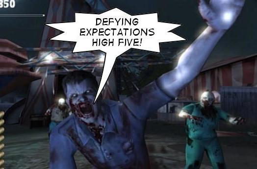 Sega: Overkill sales 'met expectations,' MadWorld's 'very encouraging'
