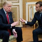 Trump criticizes Macron again over European defense remarks