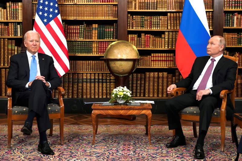 Biden presses Putin to act on ransomware attacks, hints at retaliation