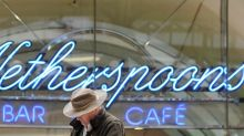 Pub operator Wetherspoon posts strong holiday-quarter sales