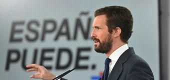 """Casado pide comicios en Cataluña """"de inmediato"""" tras la inhabilitación de Torra"""