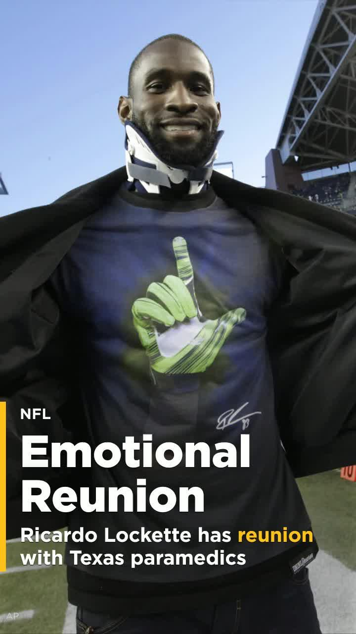 Former Seahawks receiver Ricardo Lockette has emotional ...