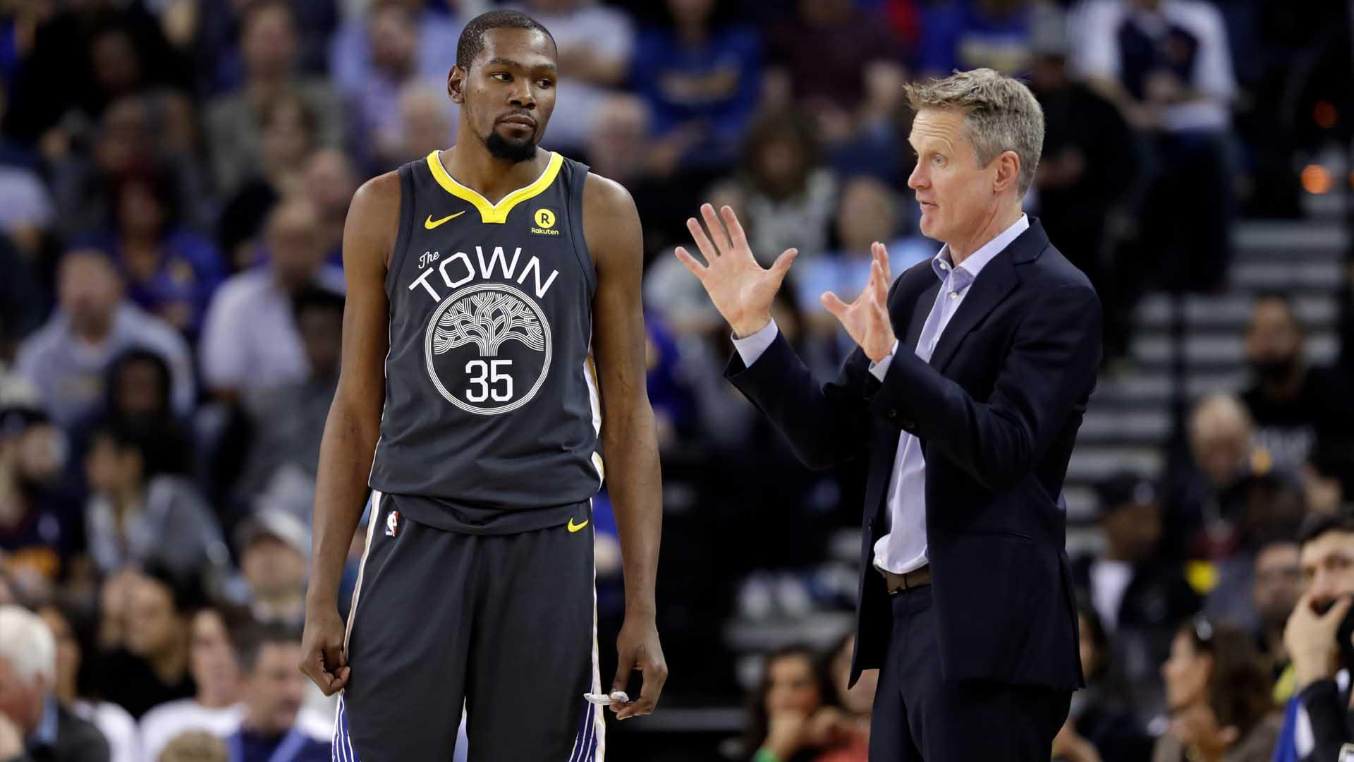 Kevin Durant 'wasn't too fond of Steve Kerr,' Stephen A. Smith says