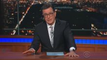 Stephen Colbert addresses sexual misconduct allegations against Les Moonves